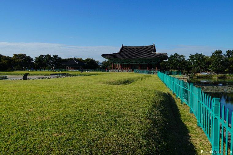 Gyeongju Korea Donggung Palace and Wolji Pond