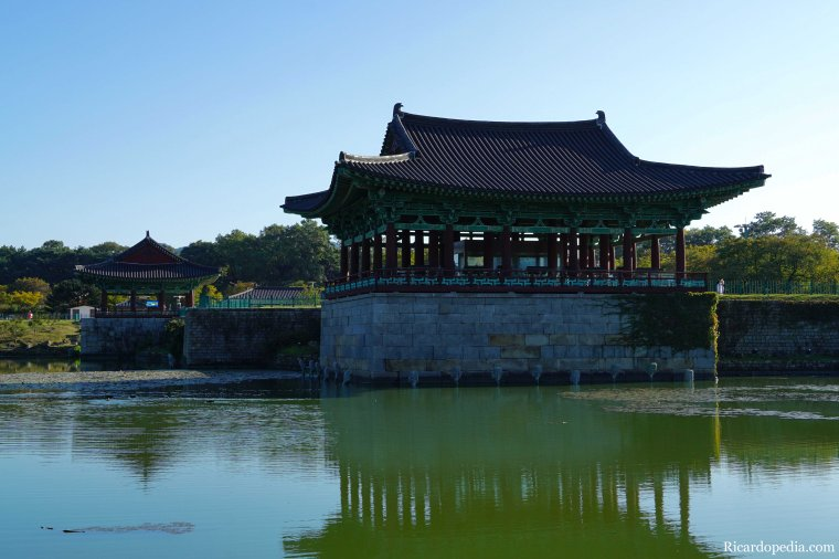 Gyeongju Korea Donggung Palace and Wolji Pond