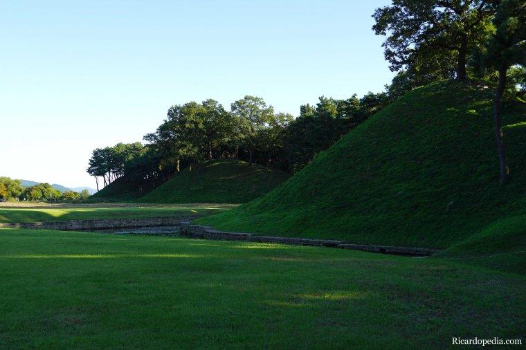 Gyeongju Korea Wolseong Palace Site