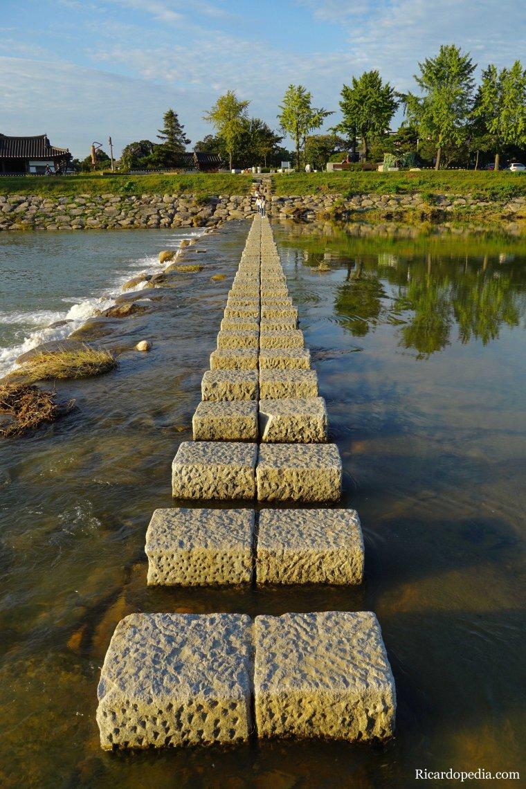 Gyeongju Korea River Crossing