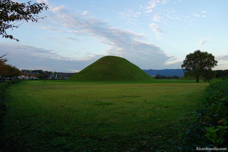 Gyeongju Korea Burial Mounds