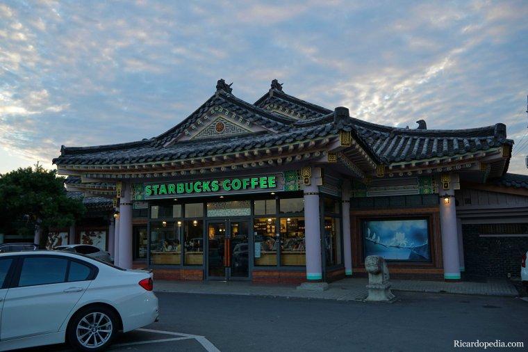 Gyeongju Korea Starbucks