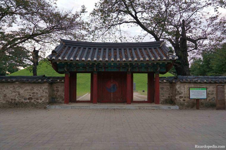 Gyeongju Korea Tumuli Park