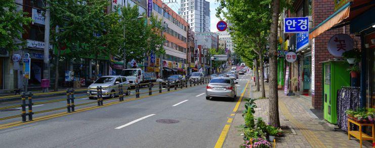 Busan Korea Neighborhood