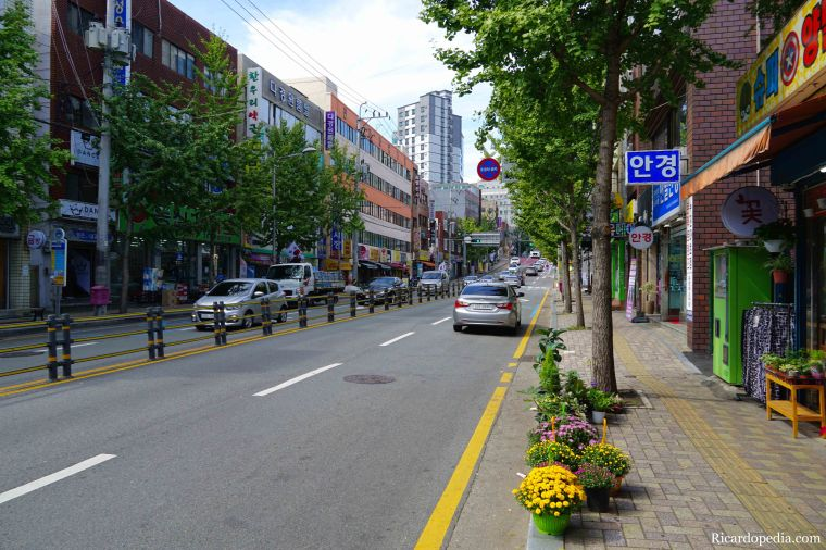 Busan Korea Neighborhood