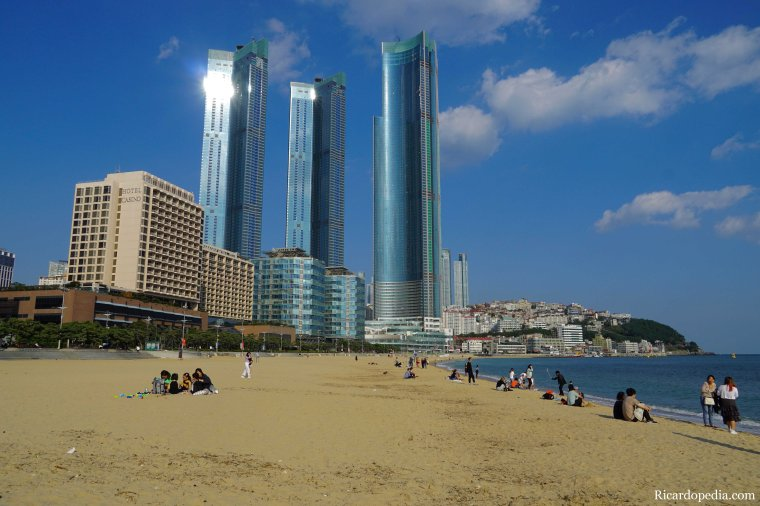 Busan Korea Haeundae