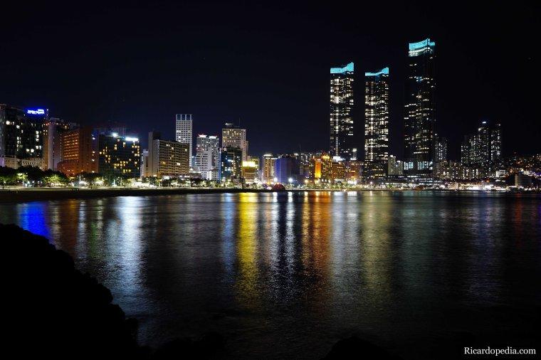 Busan Korea Haeundae Night