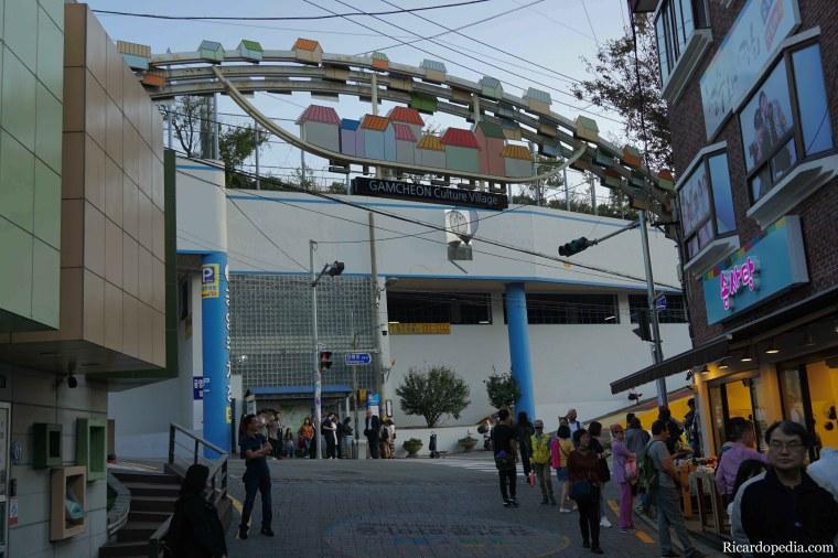 Busan Korea Gamcheon Culture Village