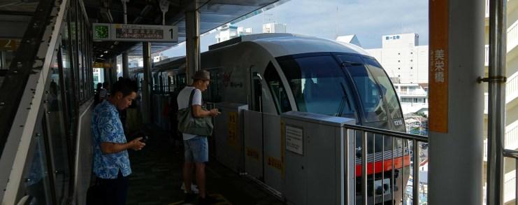 Japan Naha Okinawa Monorail