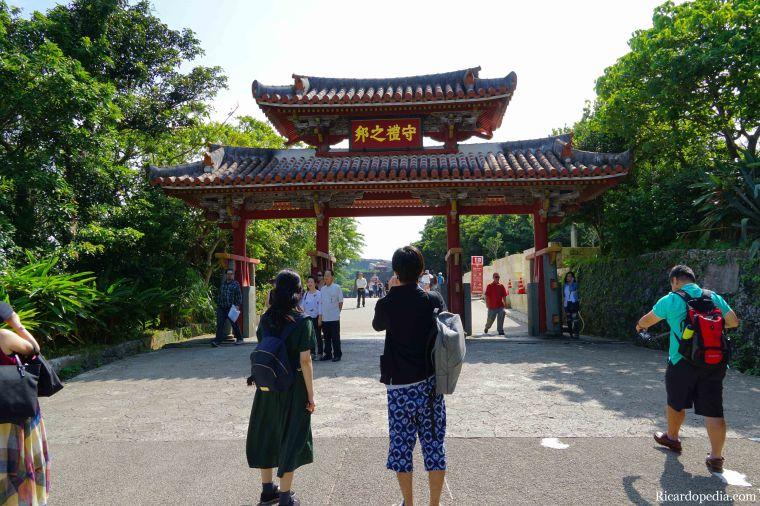 Japan Okinawa Naha Shuri Castle