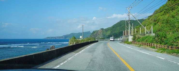 Driving in Okinawa