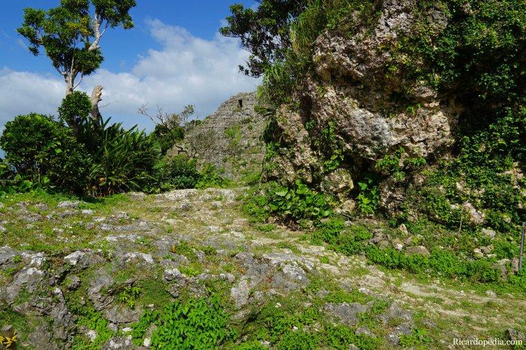 Japan Okinawa Nakagusuku Castle