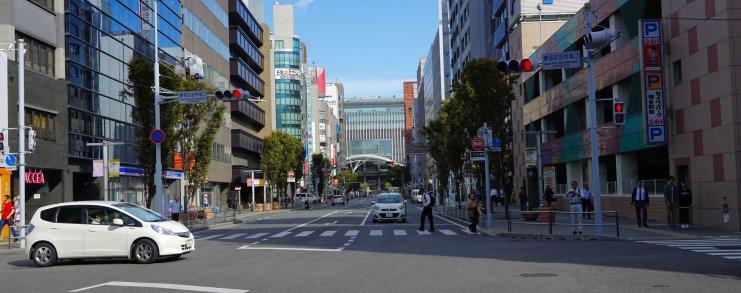 Japan Fukuoka Arrival Hakata