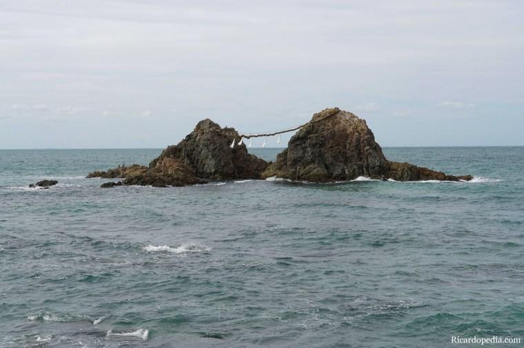 Japan Itoshima Wedded Rocks Futamigaura