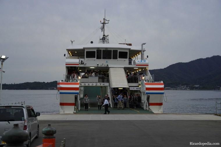 Japan Miyajima Ferry