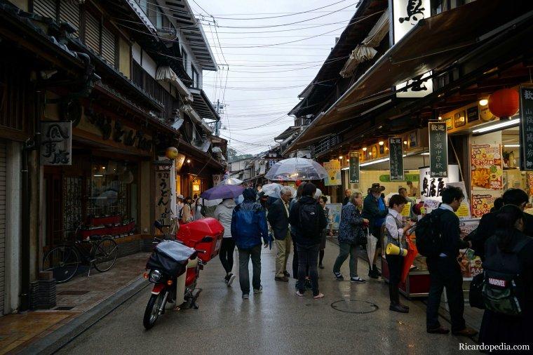 Japan Miyajima Rainy Morning