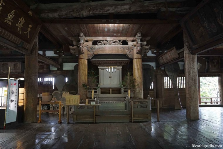 Japan Miyajima Senjokaku Hokoku