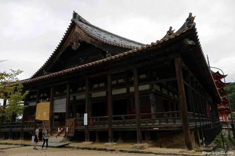 Japan Miyajima Last Walk Senjokaku Hokoku