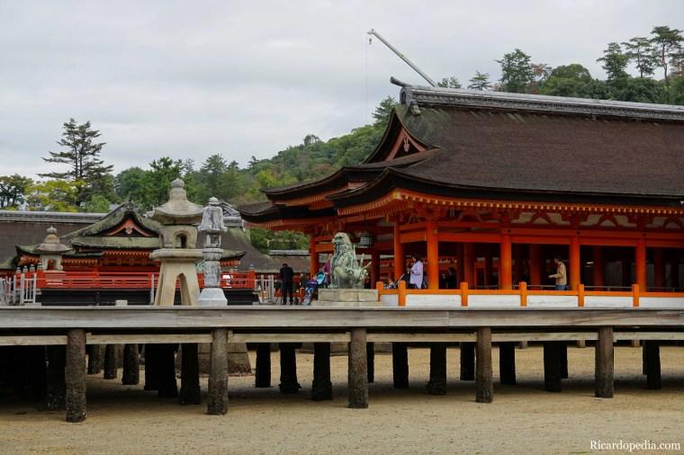 Japan Miyajima Last Walk Itsukushima