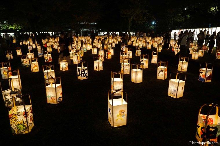 Japan Matsue Lantern Festival