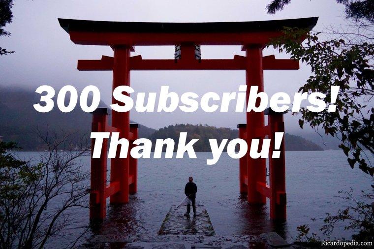 Ricardopedia 300 Subscribers