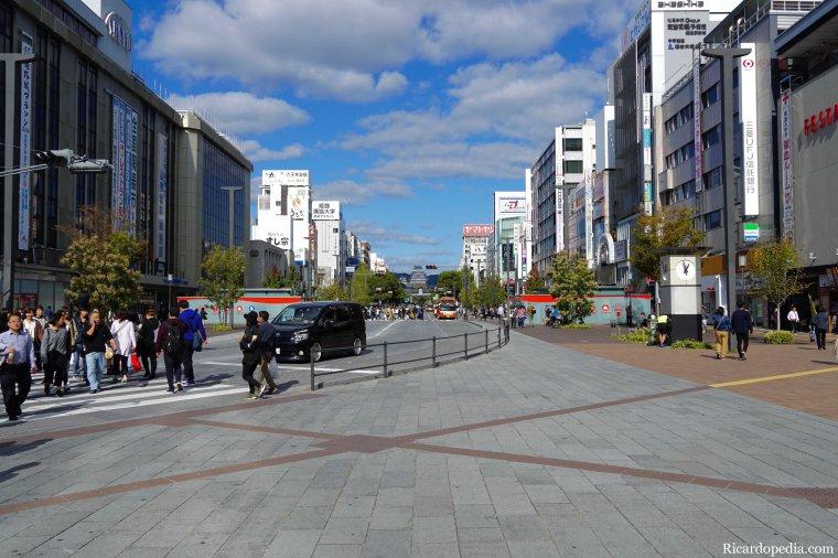 Japan Himeji Arrival