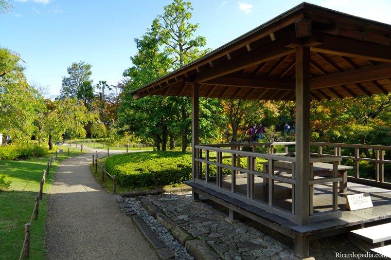 Japan Himeji Kokoen Garden