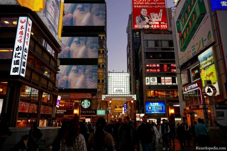 Japan Osaka Dotonbori