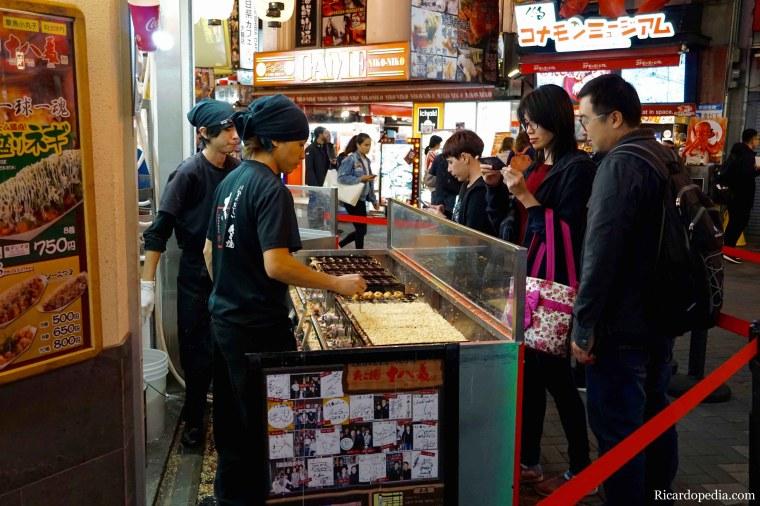 Japan Osaka Dotonbori Takoyaki