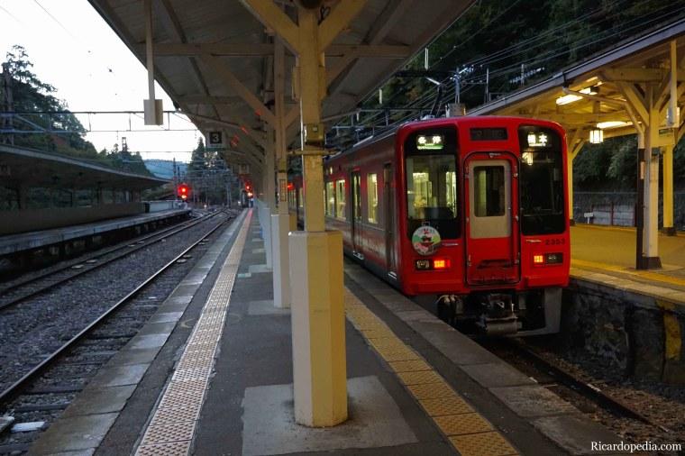 Japan Koyasan Leaving