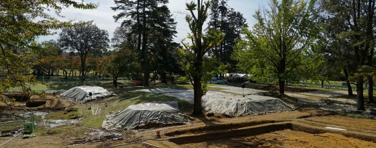 Japan Nara Excavation Site