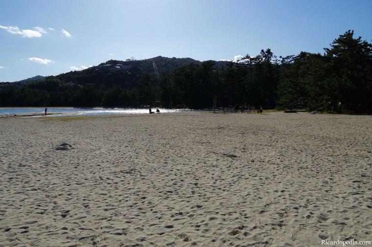 Japan Amanohashidate Sandbar